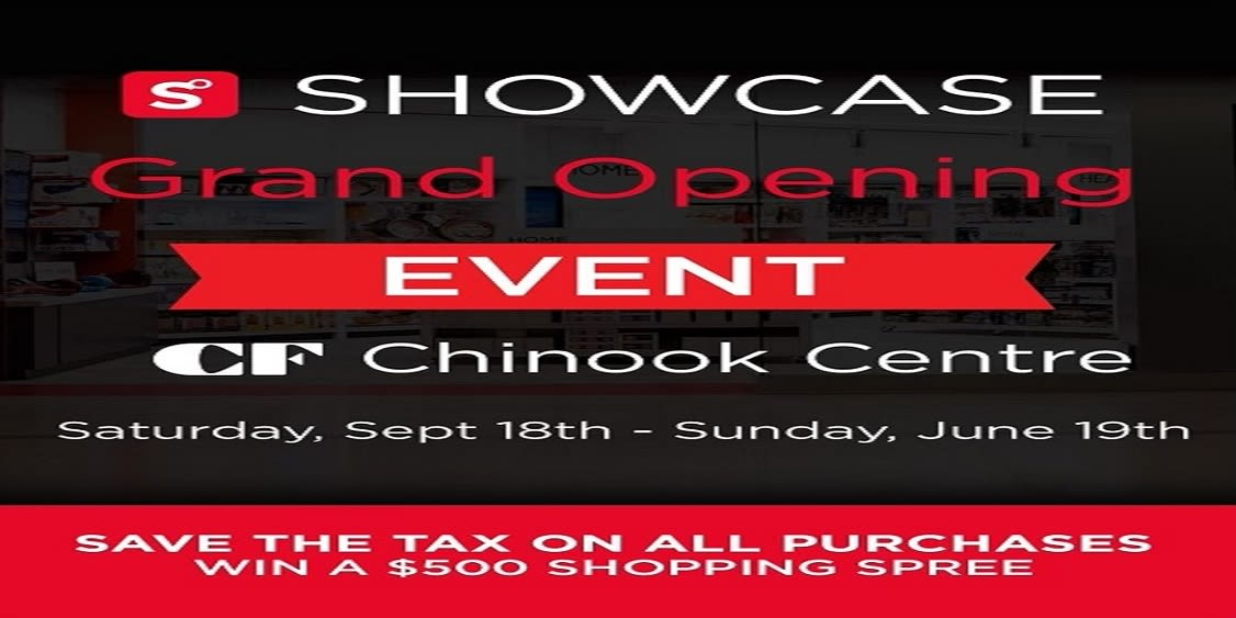 [Image] [offer] Showcase Grand Opening!