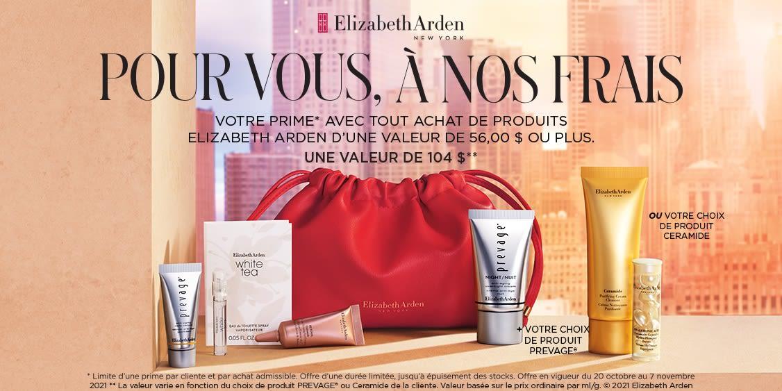 [French] [Image] [offer] Elizabeth Arden