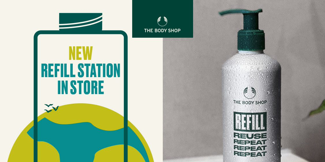 [Image] [offer] Join the Refill Revolution at the Body Shop!