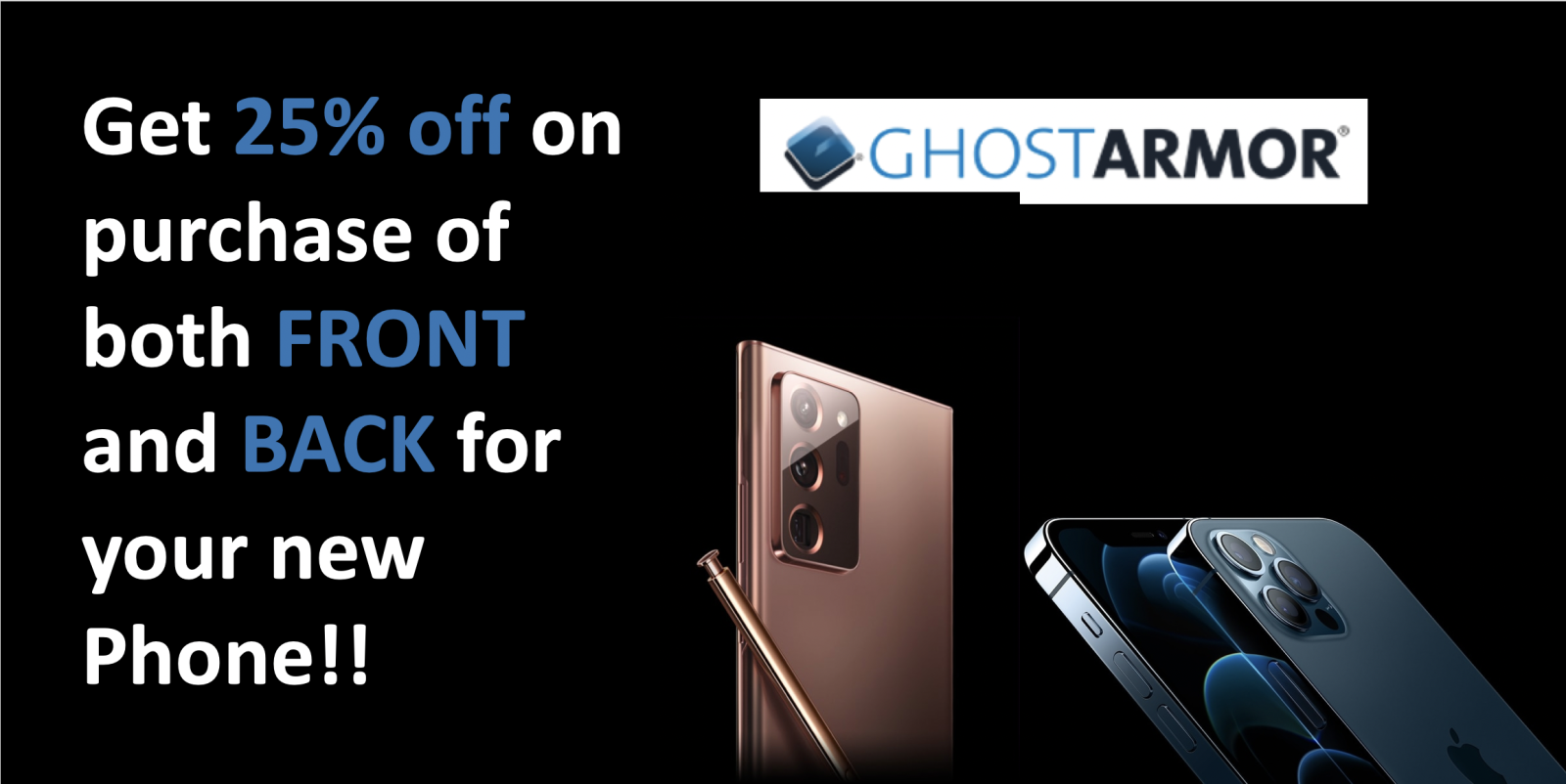 [Image] [offer] 25% OFF SCRATCH-PROOF SCREEN INSTALLATION FOR YOUR DEVICE!