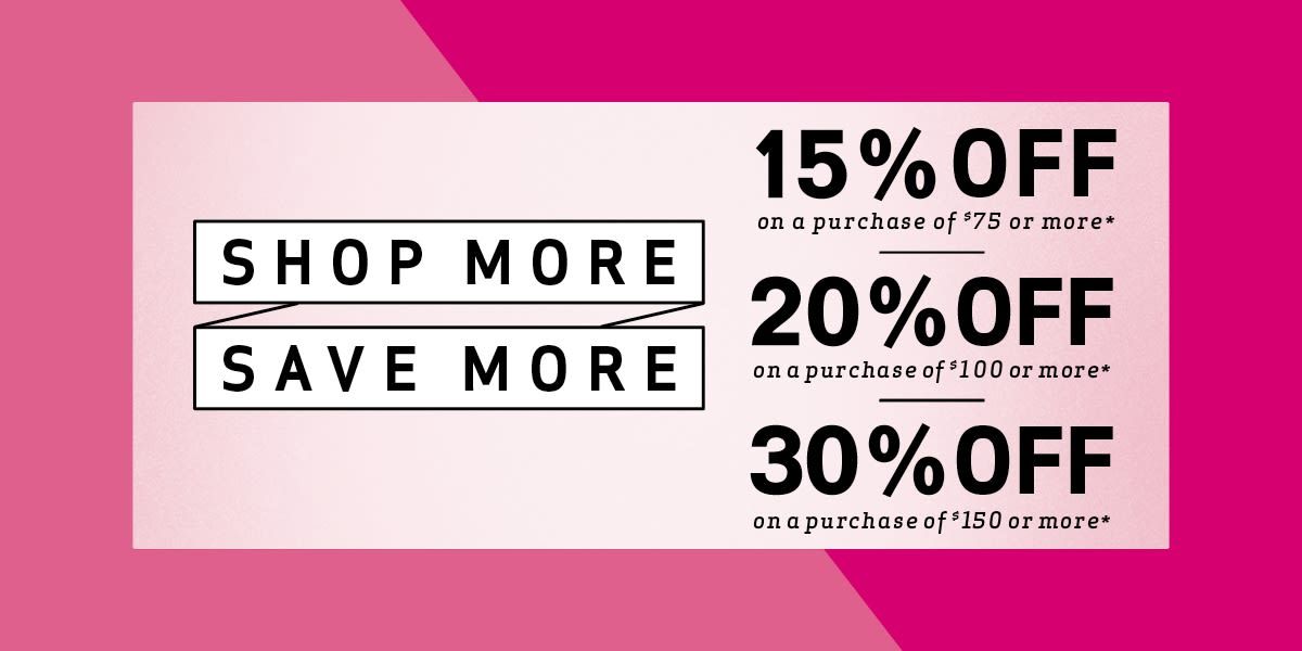 [Image] [offer] Shop more, Save more !