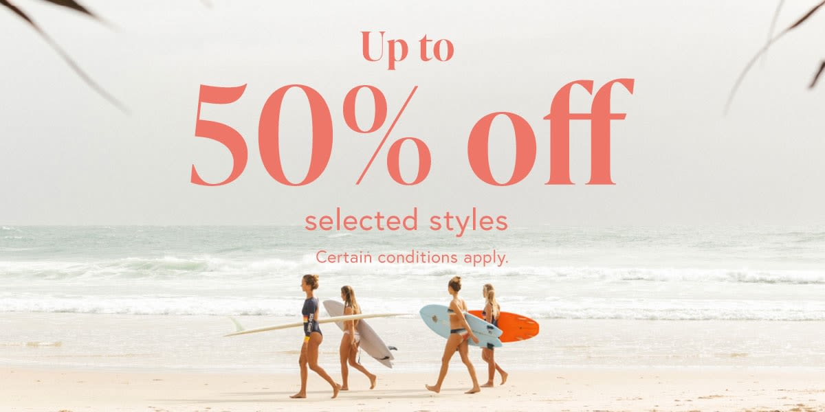 [Image] [offer] Up to 50% off selected styles