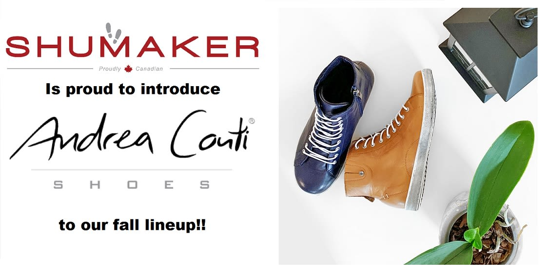 [Image] [offer] Shumkaker is proud to introduce Andrea Conti to our fall lineup! Up to 25% off regular price
