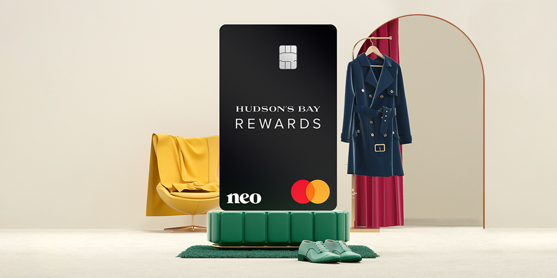 [Image] [offer] APPLY TODAY for the HUDSON'S BAY REWARDS NEO MATERCARD