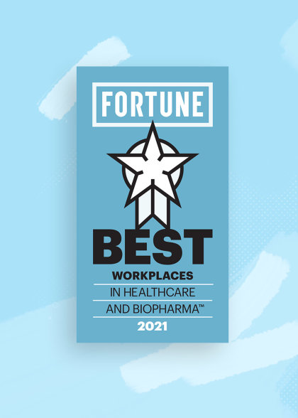 The Fortune Award Logo Badge.