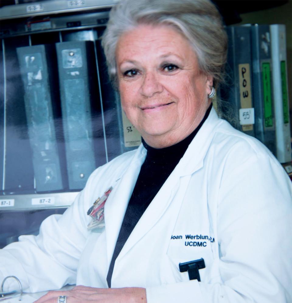 Joan as a nurse