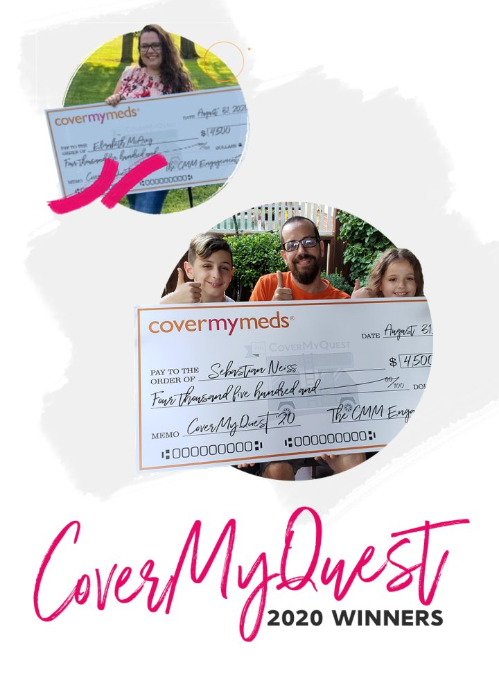 CoverMyMeds' CoverMyQuest 2020 winners update 2