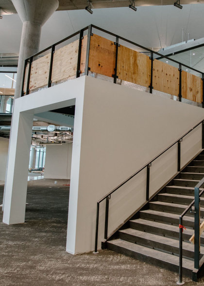 A peek at the interior of CoverMyMeds' new campus