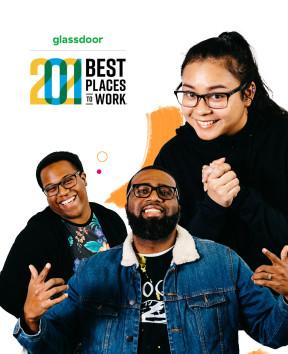 We're among Glassdoor's 2021 Best Places to Work