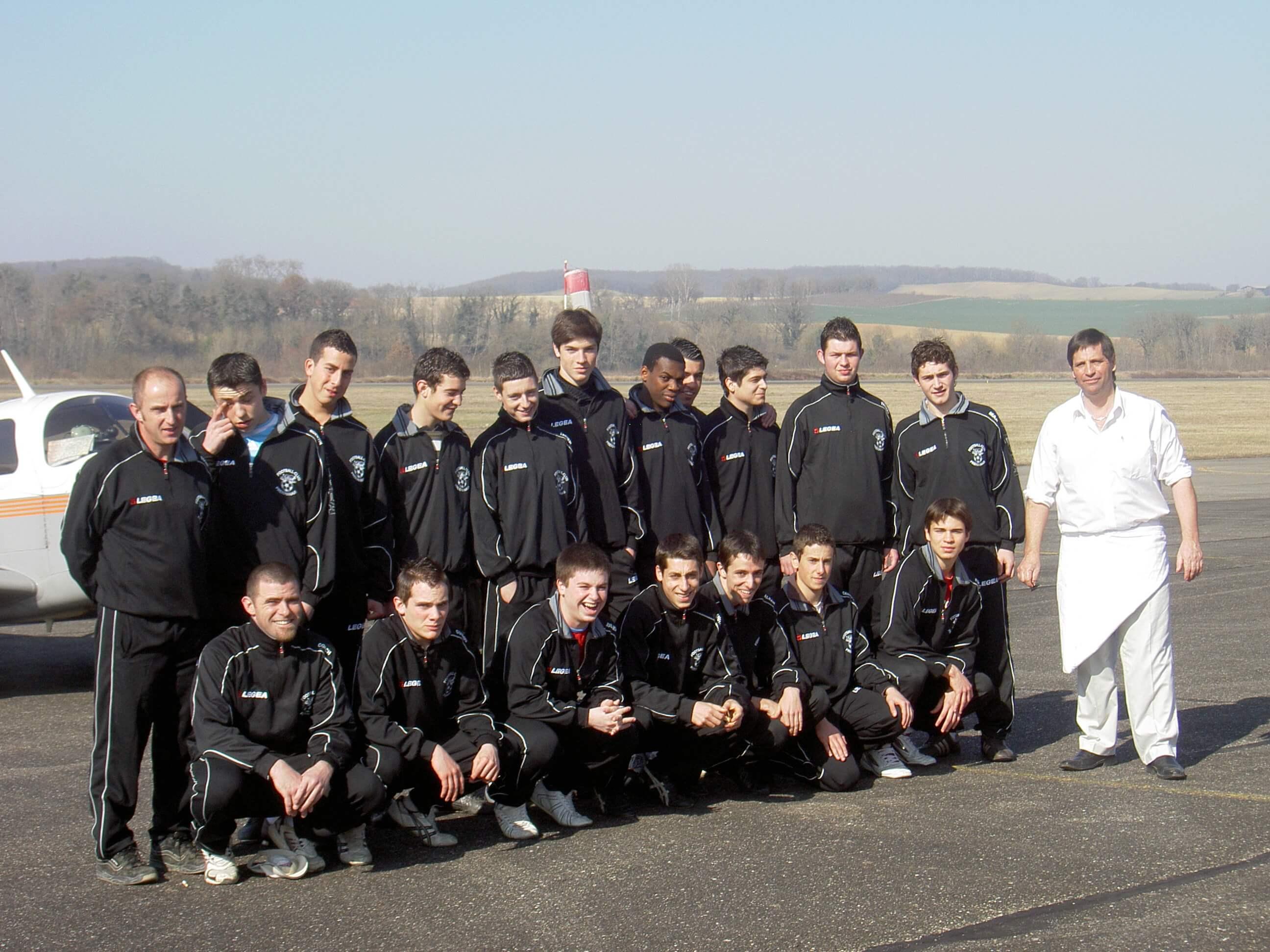 SCP 2007-2008 - 18 ans - Orleix QM (Aérodrome JP)