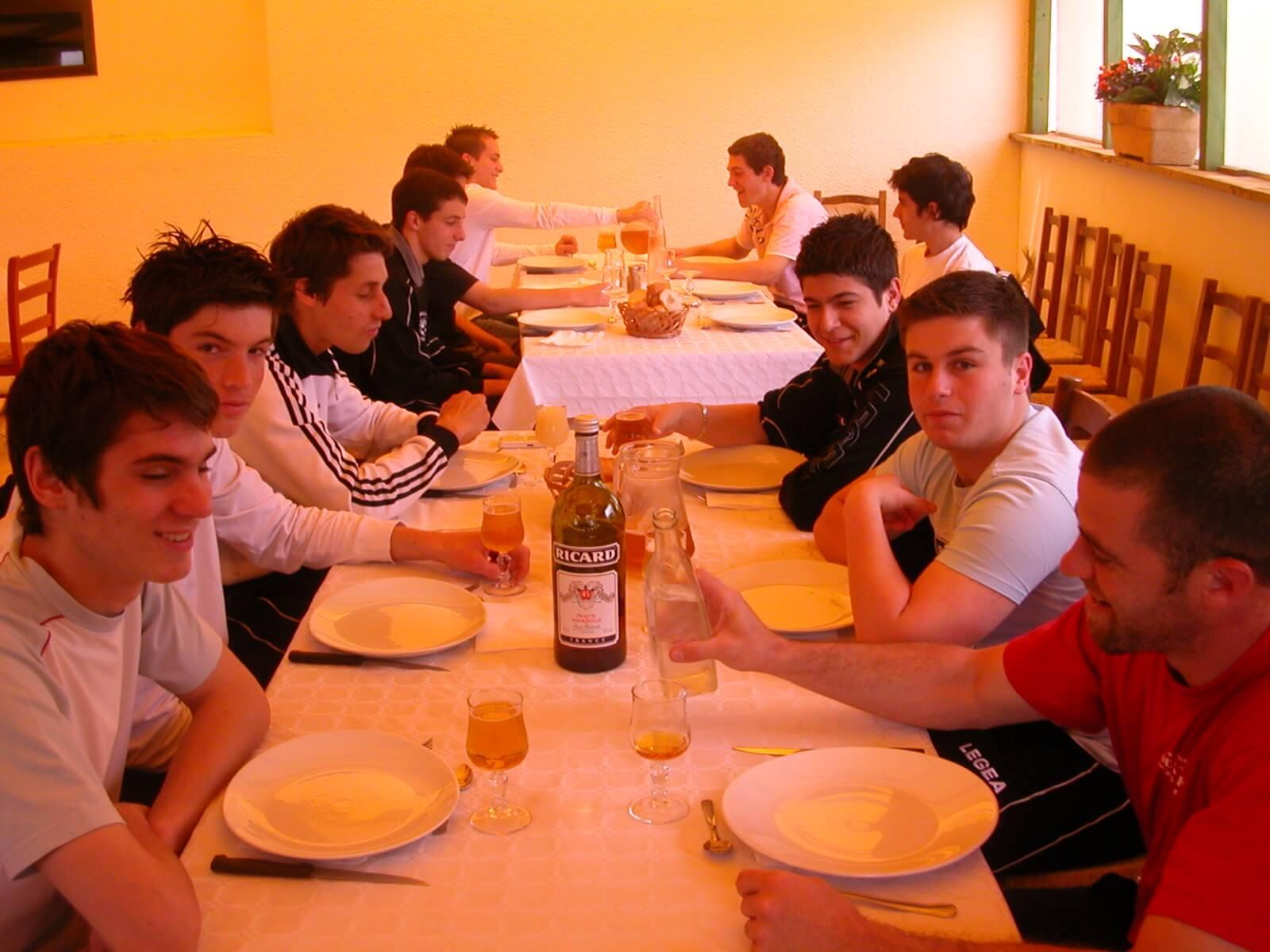 SCP 2007-2008 - 18 ans - Orleix QM (Aerodrome JP, repas)