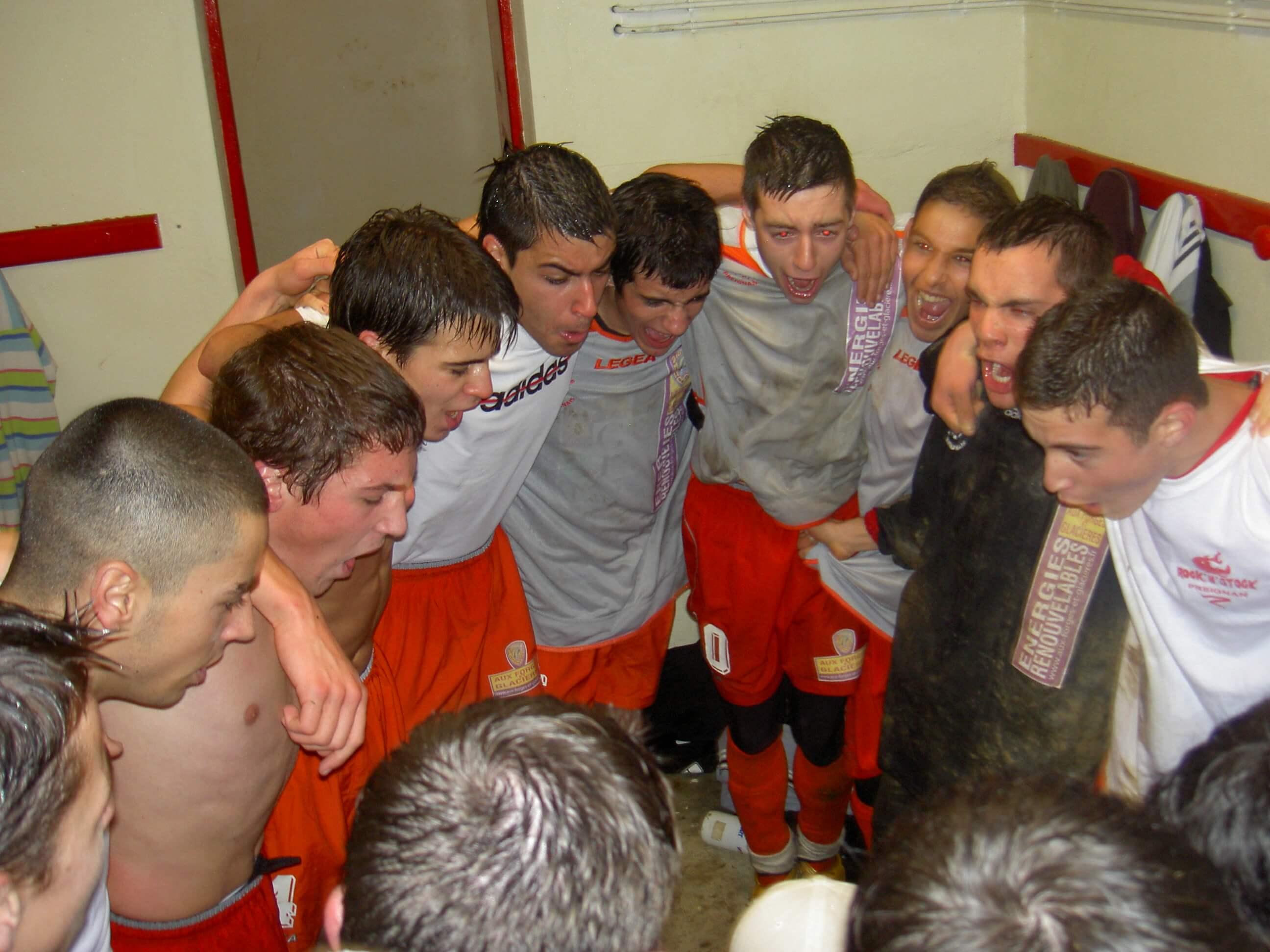 SCP 2007-2008 - 18 ans - AJAA (Aognan, vestiaire)