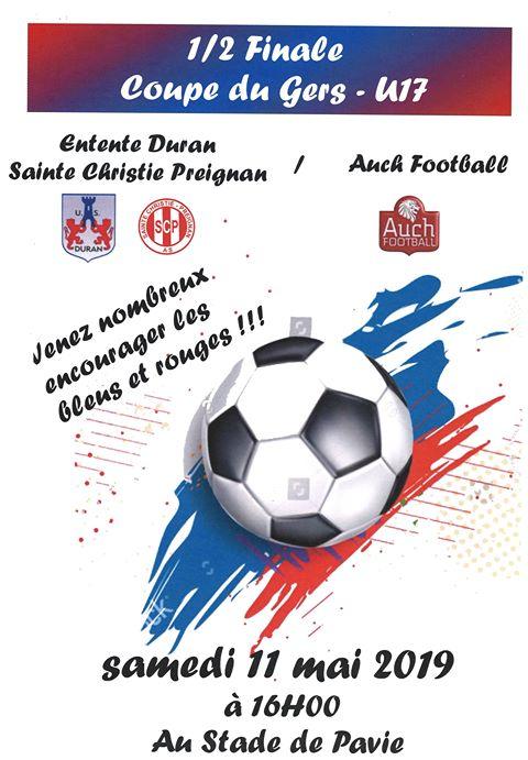 DCSP - 2019-05-11 - U17 - Coupe du Gers