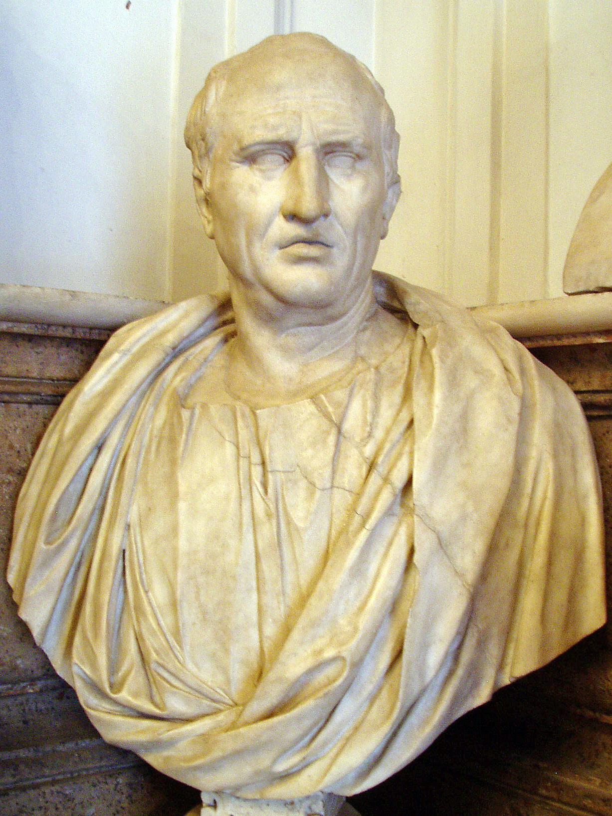 Bust of Cicero, Musei Capitolini, Rome, Half of 1st century AD