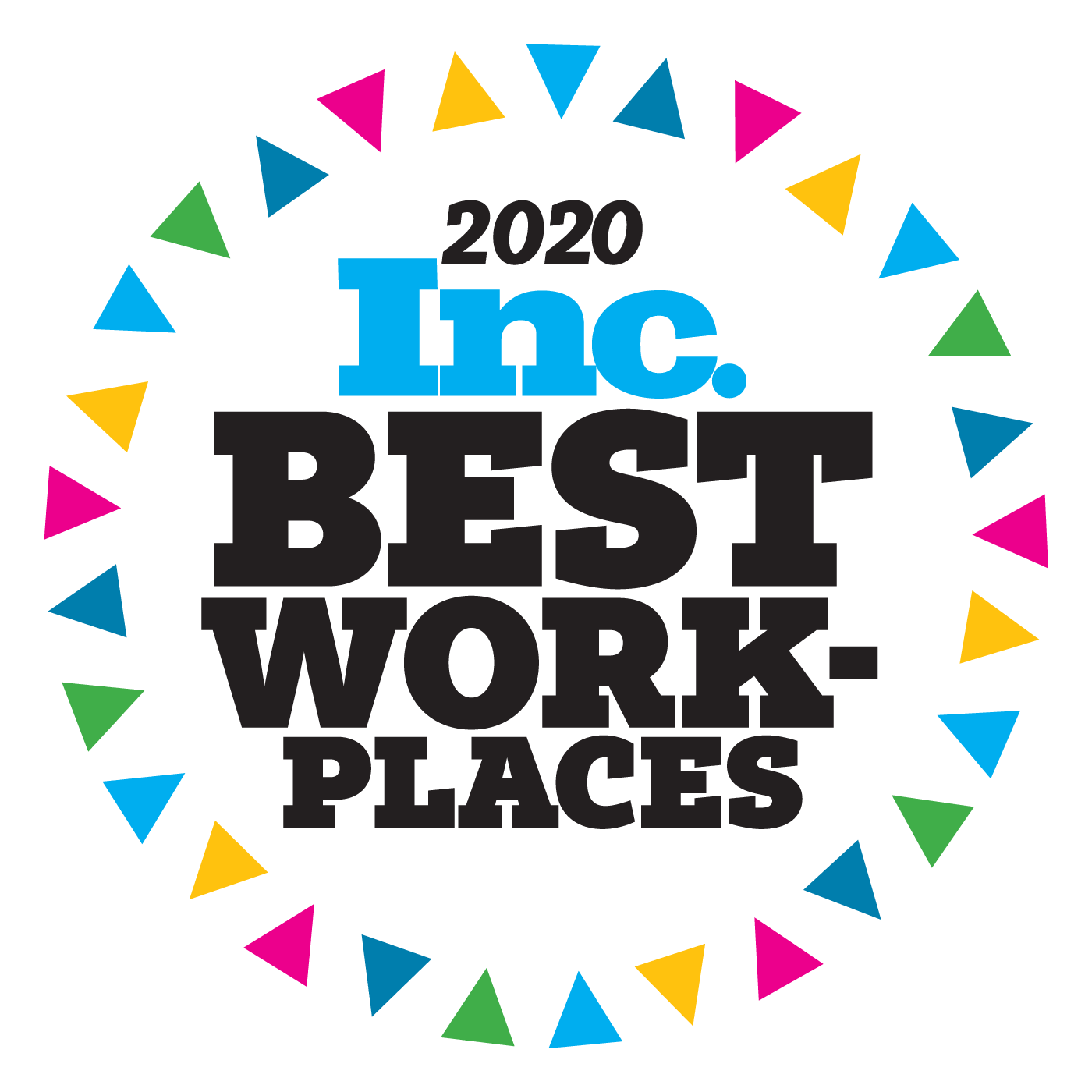 Inc. Best Workplaces 2020 Logo
