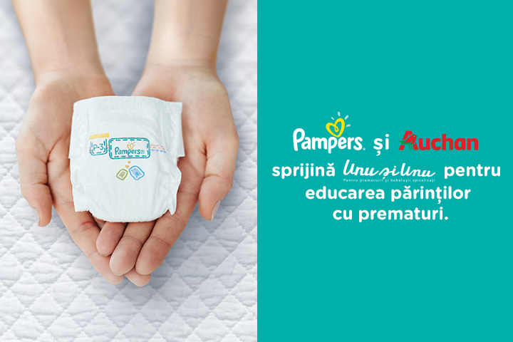 Pampers și Auchan