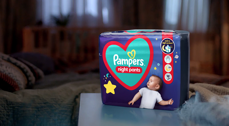 Pampers Night Pants