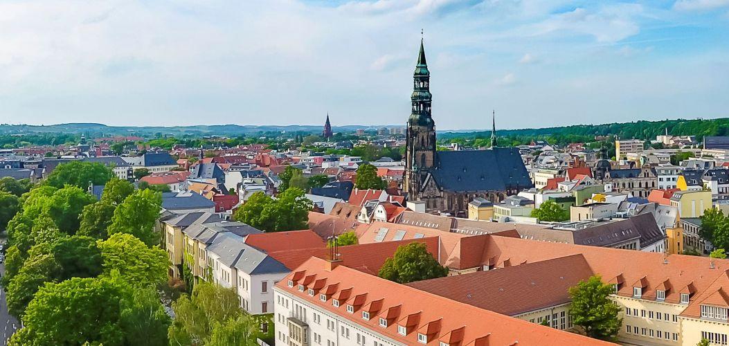 Zwickau Stadtansicht