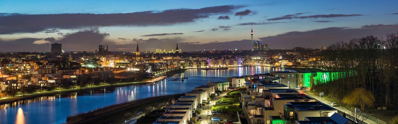 Ansicht der Stadt Dortmund