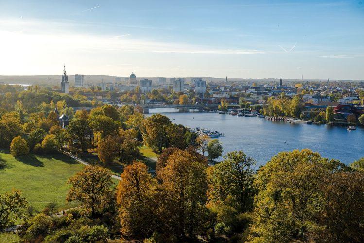 Potsdam und Fluss