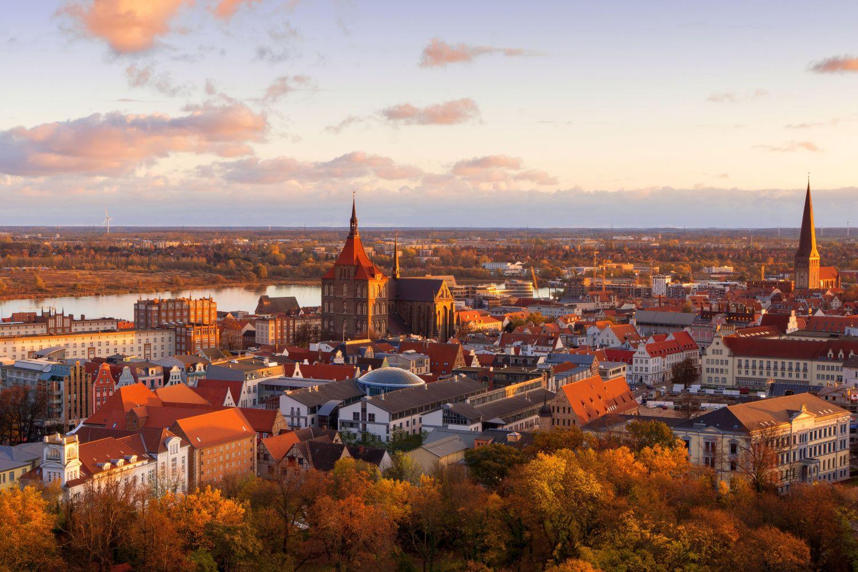 Skyline von Rostock