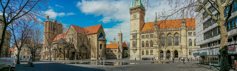 Platz in Braunschweig