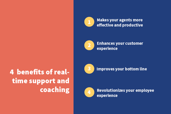 4 benefits of real time support and coaching