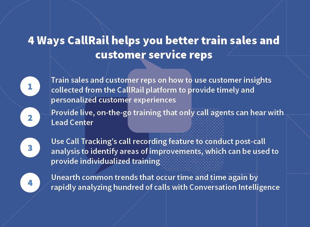 4 ways CR helps train sales and CS better