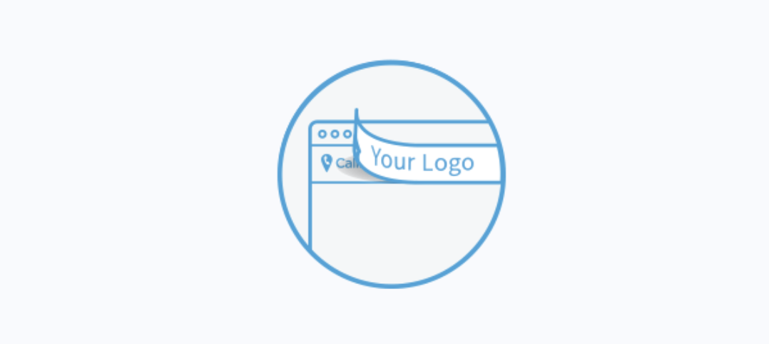 Illustrated of white labeling software