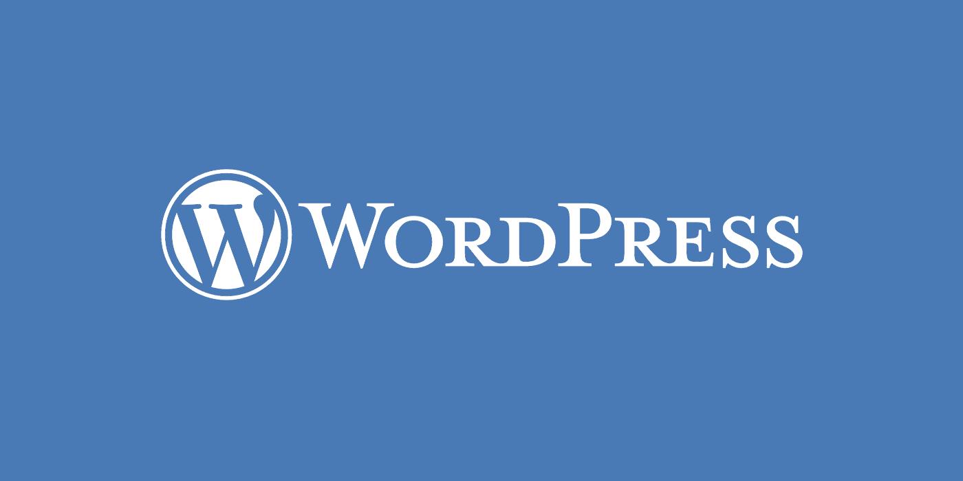 Wordpress software logo