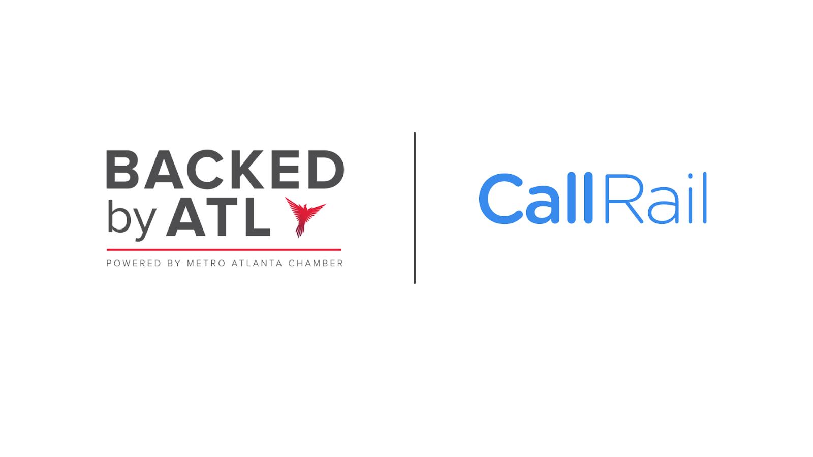 CallRail and Backed by ATL logos