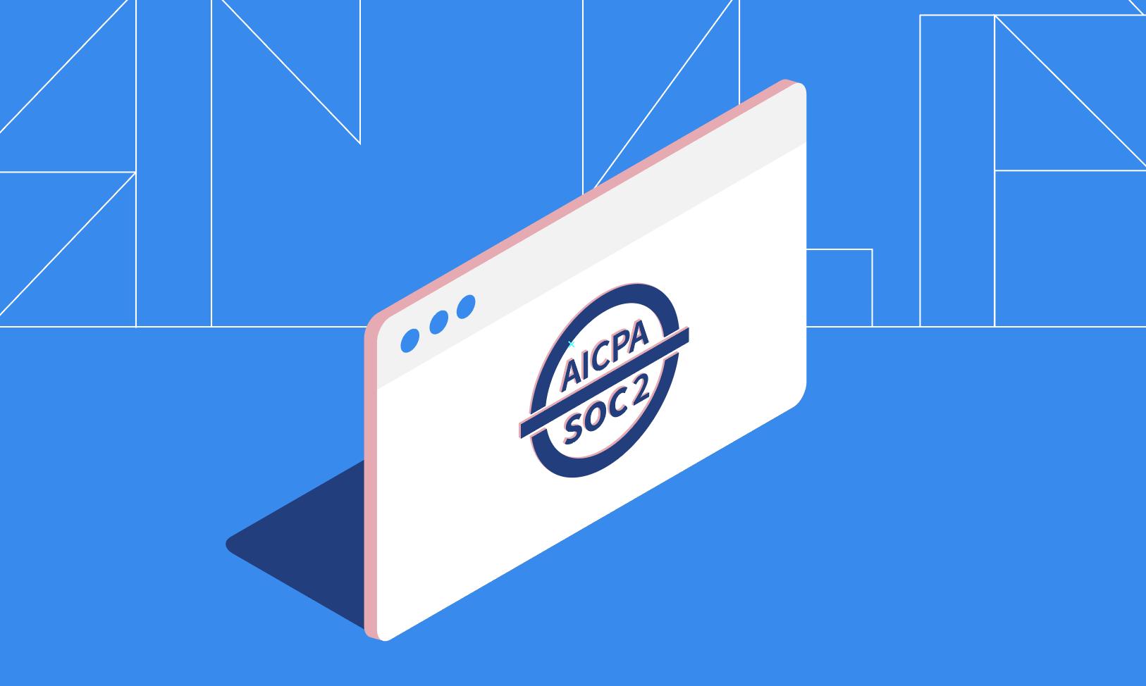illustrated SOC 2 logo