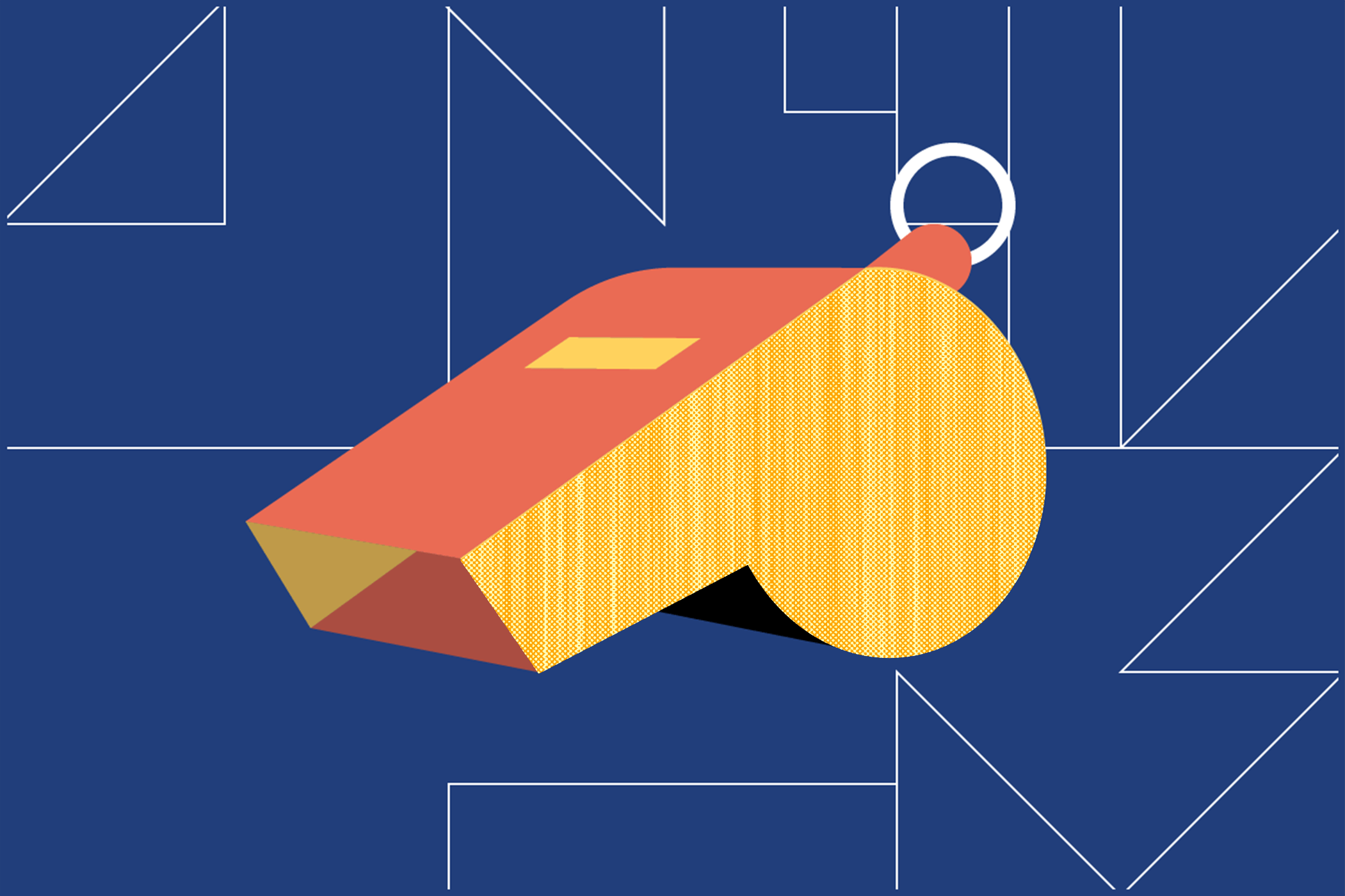 Illustrated whistle