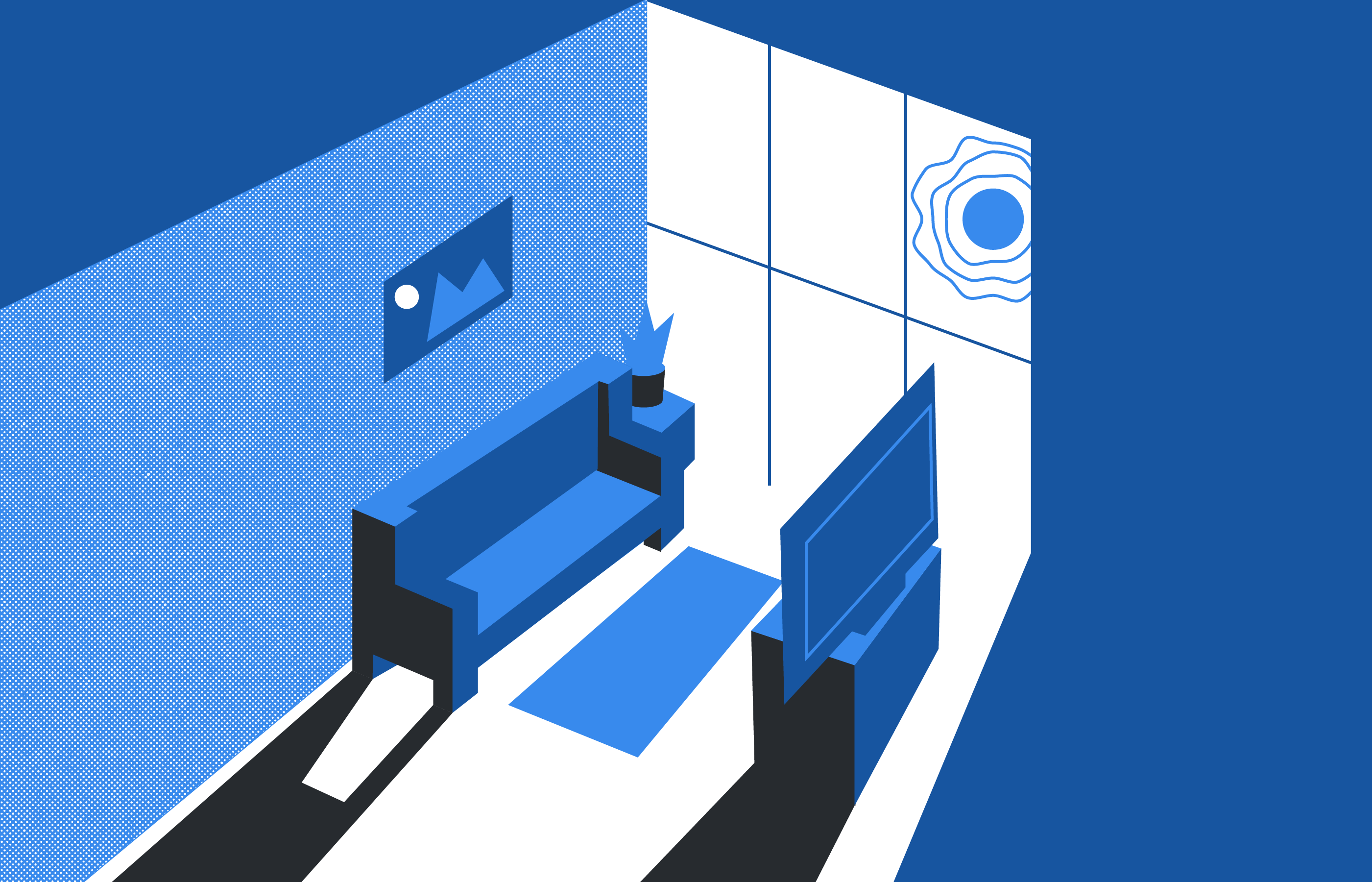 View of an apartment.