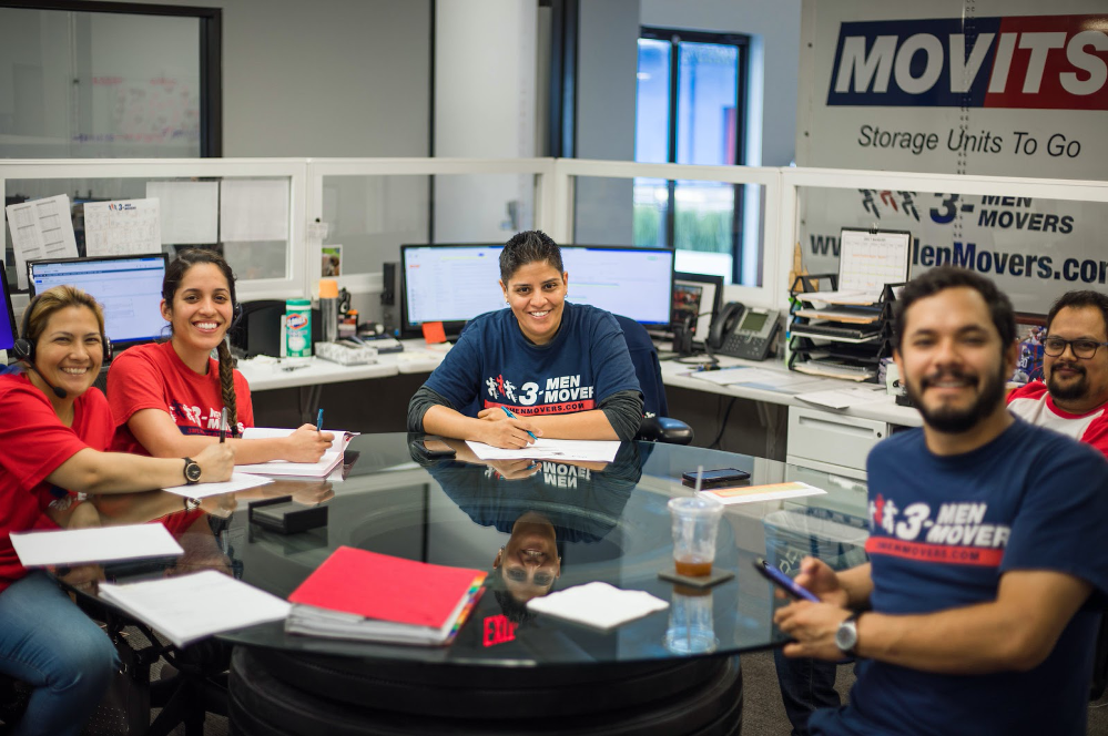 Here's a look at the team at 3 Men Movers.