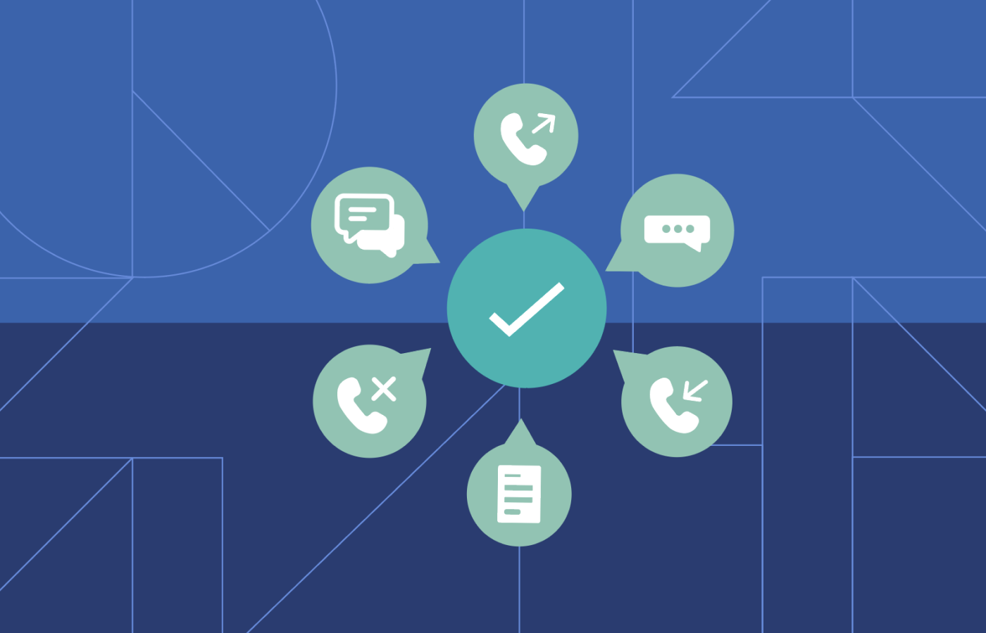 Here's a visual look at how you can consolidate all your incoming and outgoing customer communications in one place.
