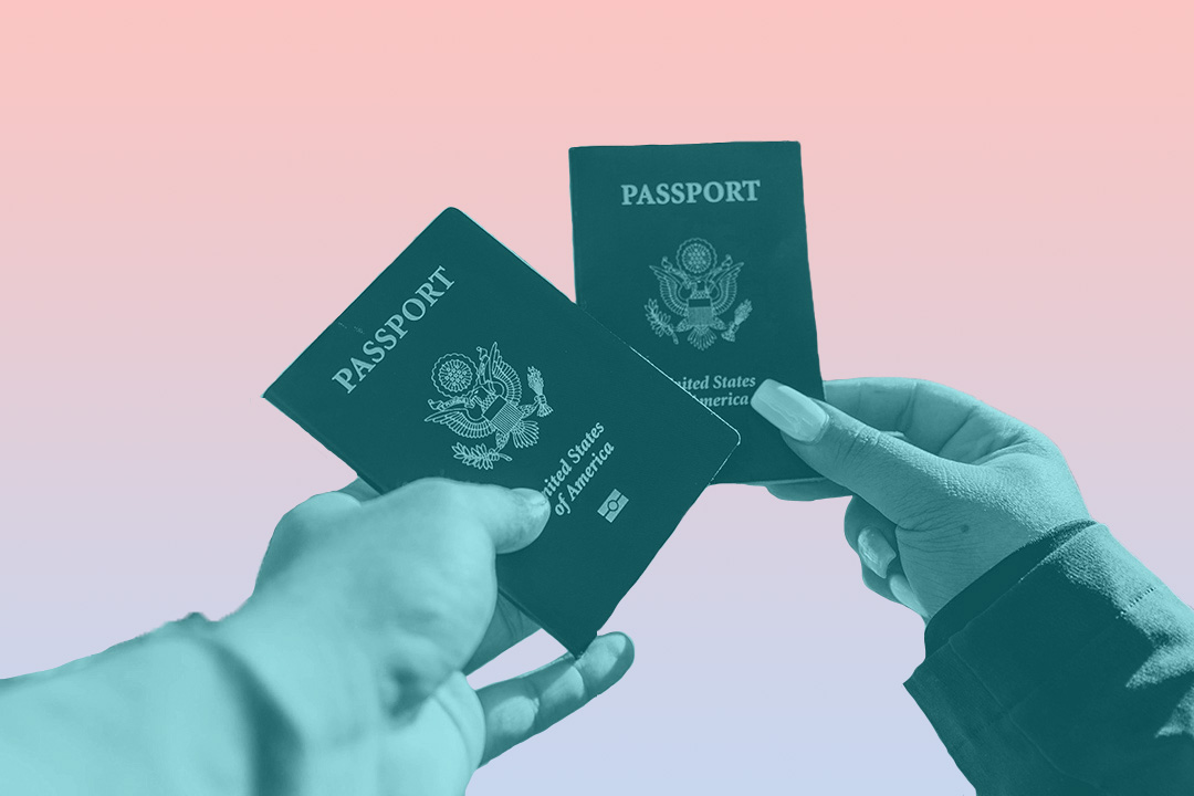 passports for honeymoon