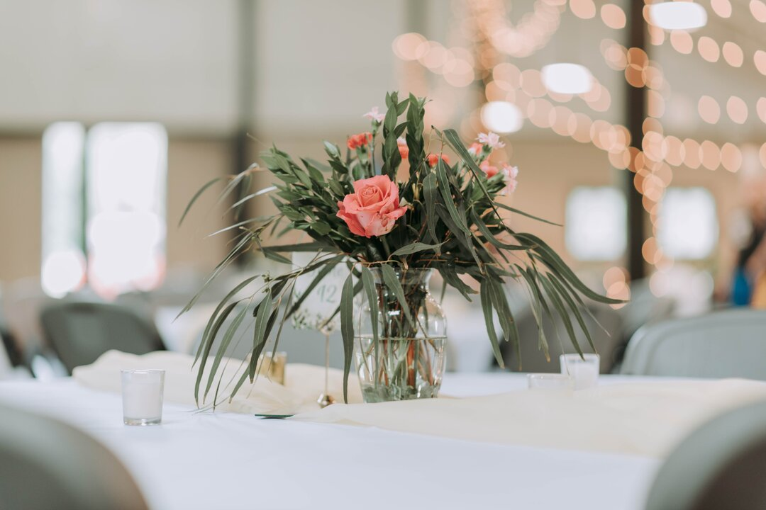 Flower Wedding Centerpiece