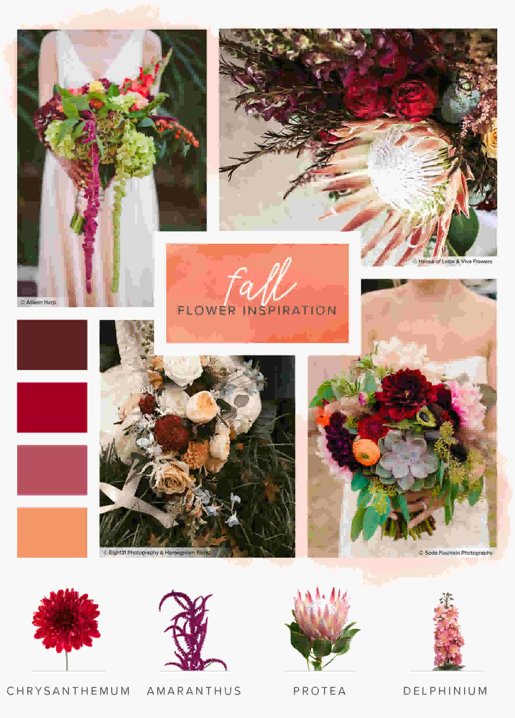 A Seasonal Guide To Wedding Flowers Zola Expert Wedding Advice