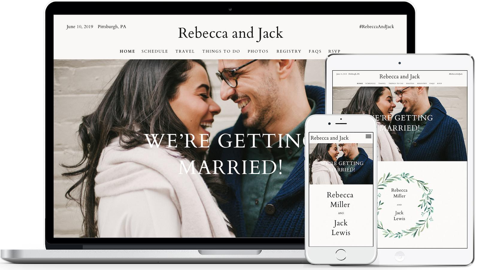 How to Write Your Wedding Website   Zola Expert Wedding Advice