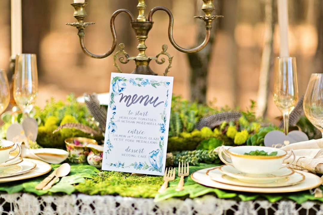How to Create an Enchanted Forest Wedding Theme
