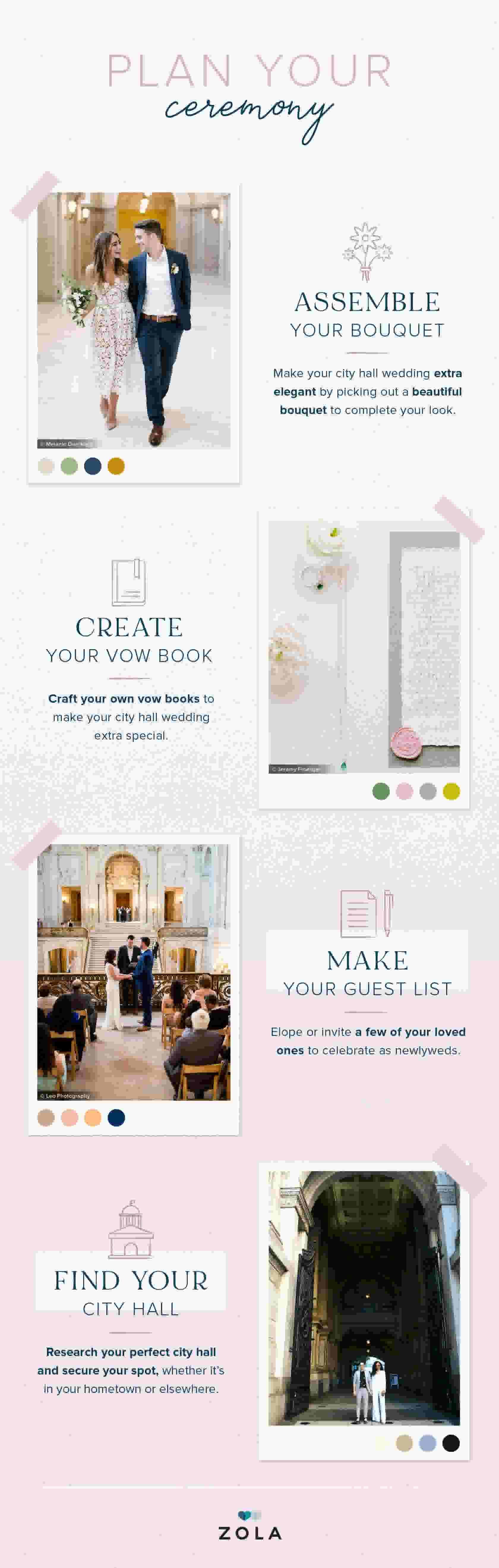 Plan your ceremony