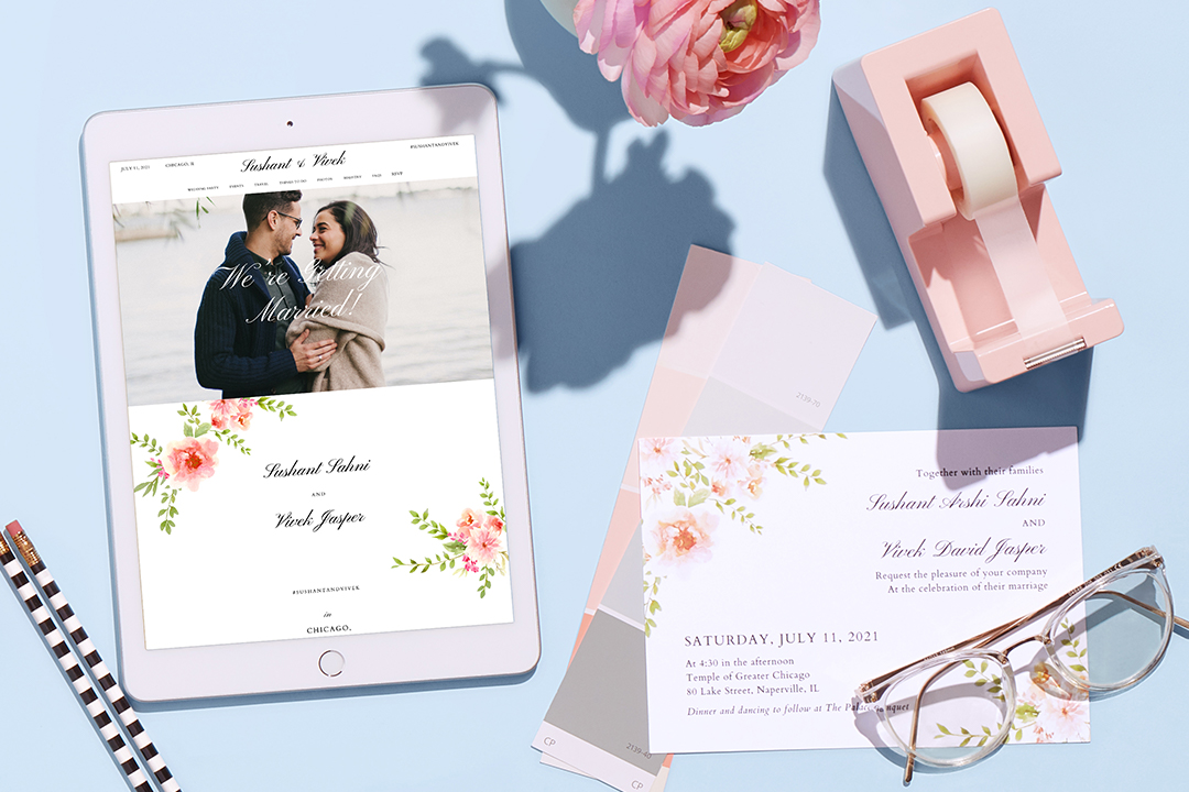 free wedding websites on zola.com