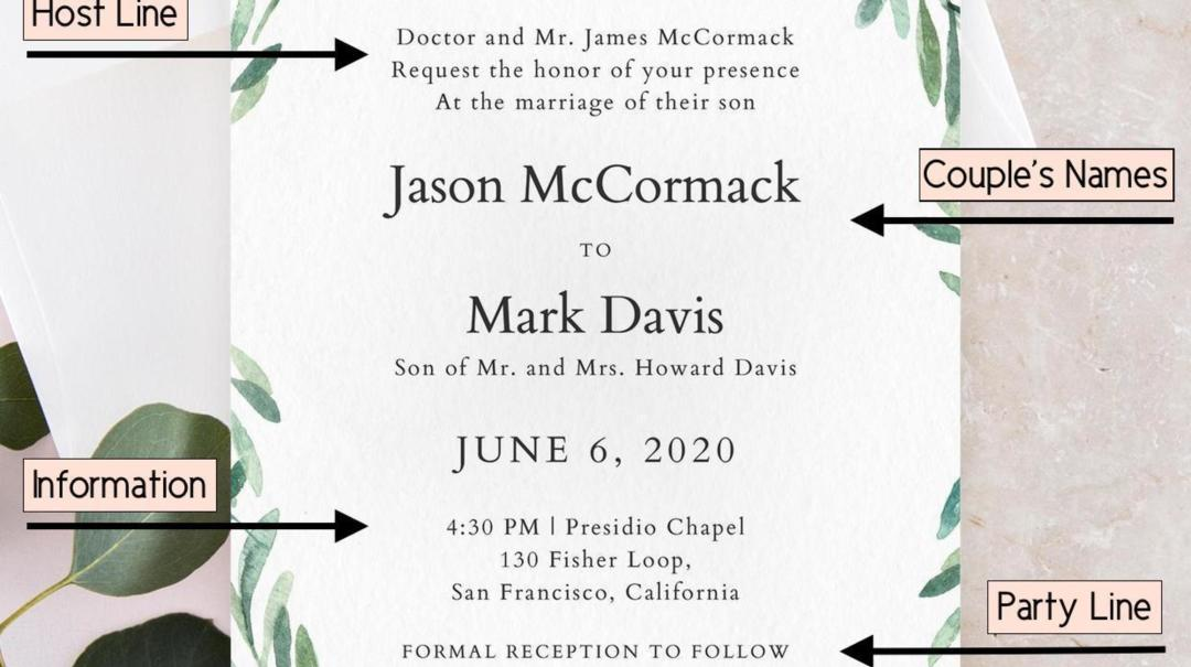 How To Word Wedding Invitation: How To Word Wedding Invitations