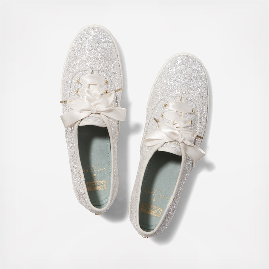 keds keds x kate spade new york champion glitter cream a