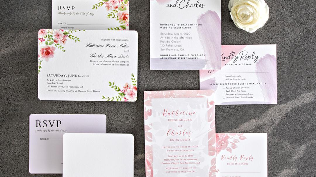 Wedding Invitation Pricing