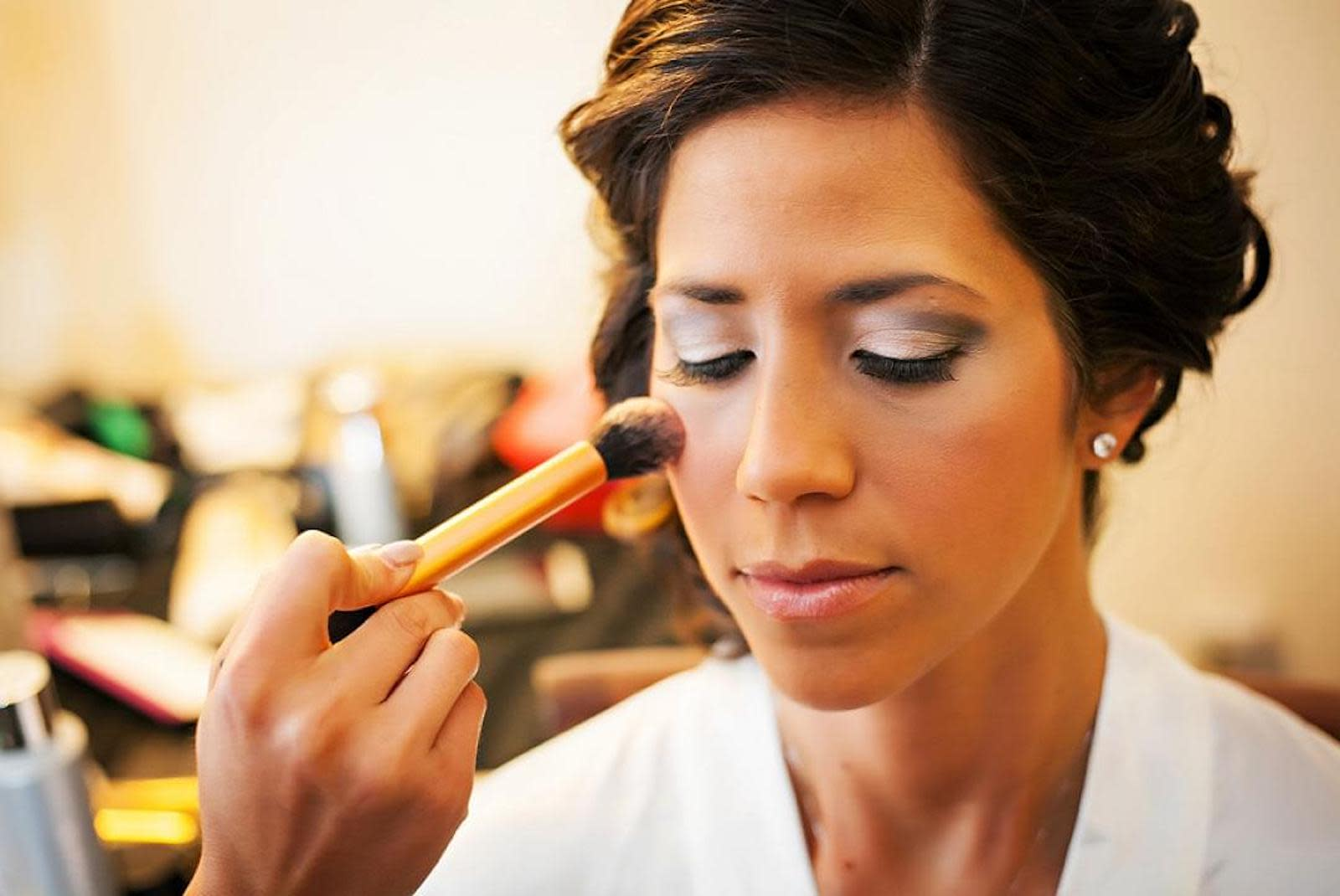 A Guide To Wedding Hair And Makeup Costs   Zola Expert Wedding Advice