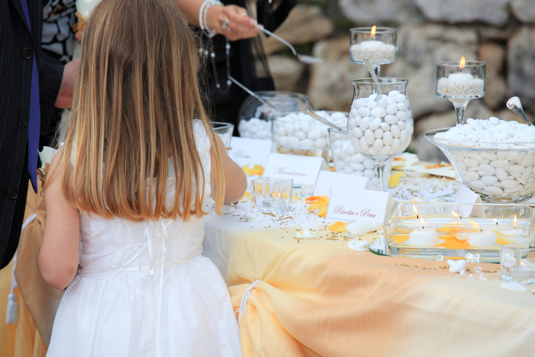 Kids Wedding Table