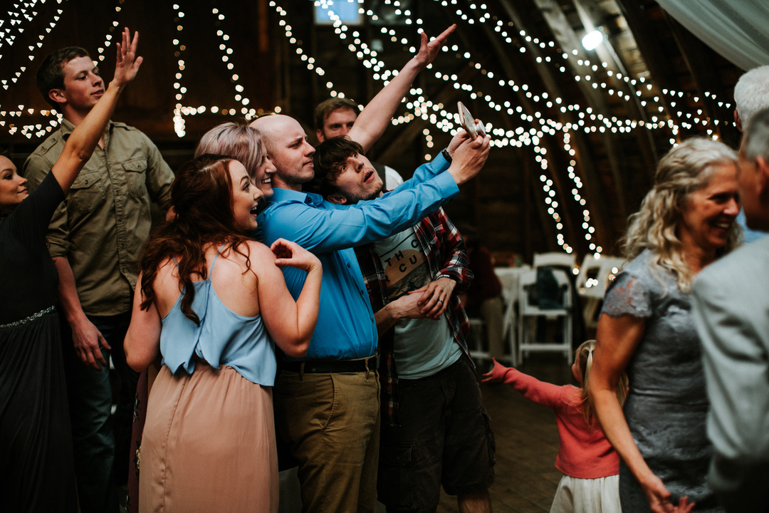 couples dance at wedding reception