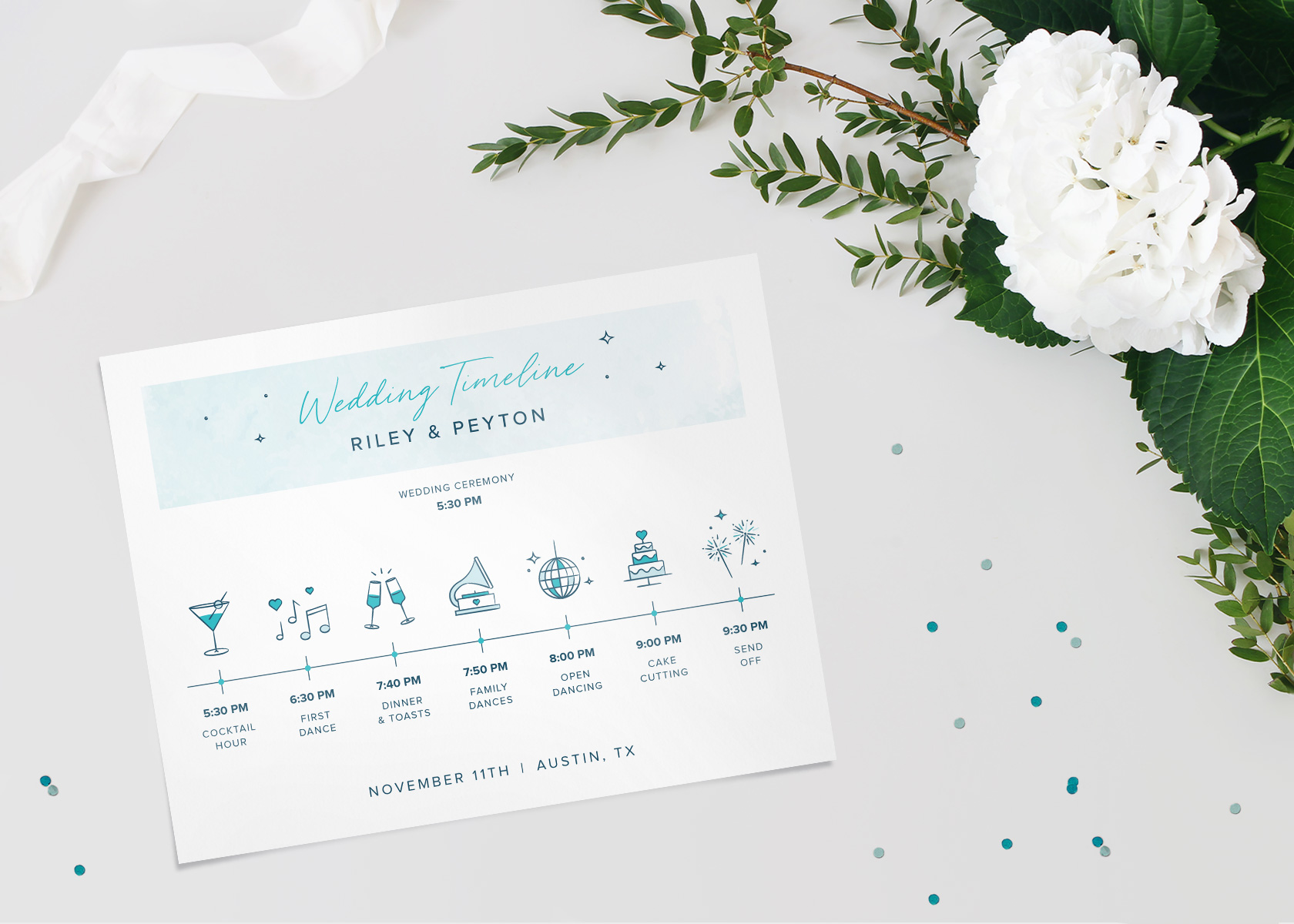 Wedding Reception Schedule Template from images.ctfassets.net